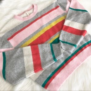 Striped Sweater | Rebecca Taylor